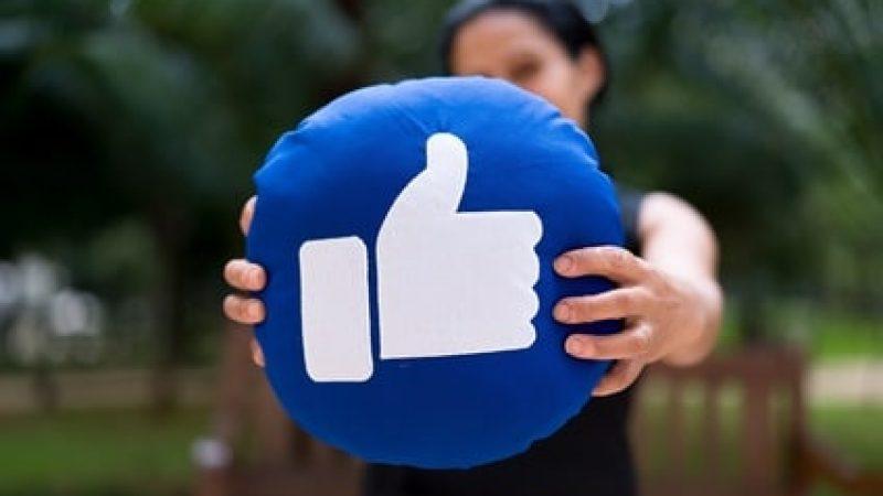 Facebook im Flow.
